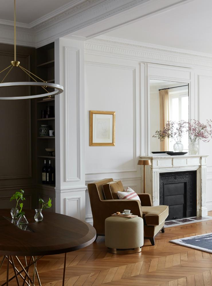 Kasha Paris interior architecture, Rive Gauche Saint-Germain-des-Prés 75007 Paris