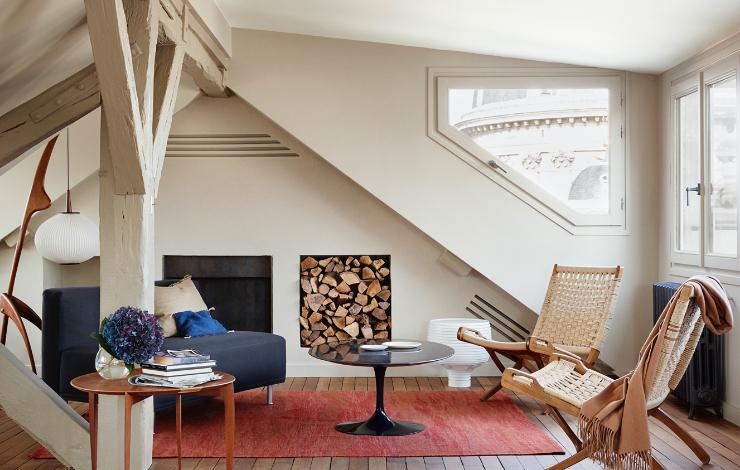 Kasha Paris interior architecture rue de Seine 75006 Paris