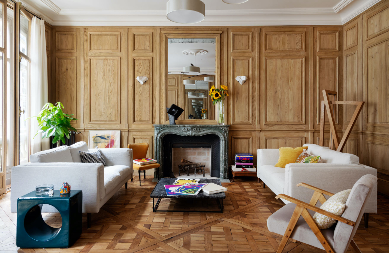 Kasha Paris interior architecture rue du Pré-aux-Clercs 75007 Paris
